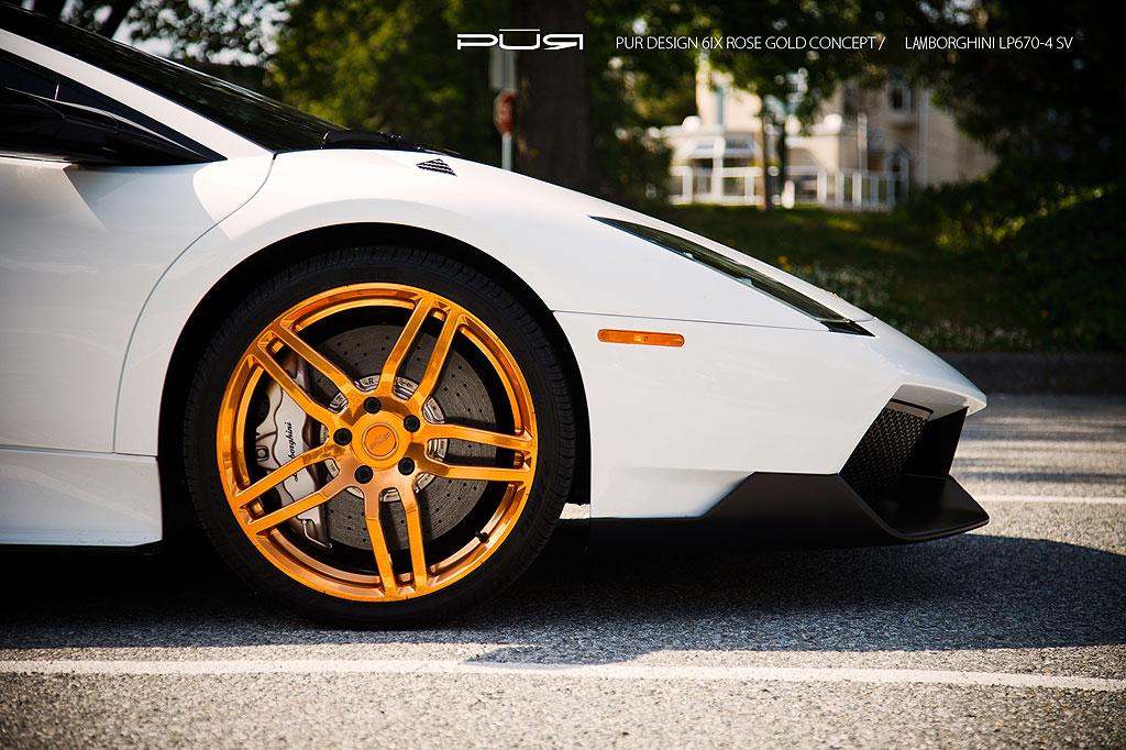 Lamborghini Murcielago Lp670 4 Sv Golden Renaissance By Sr Auto