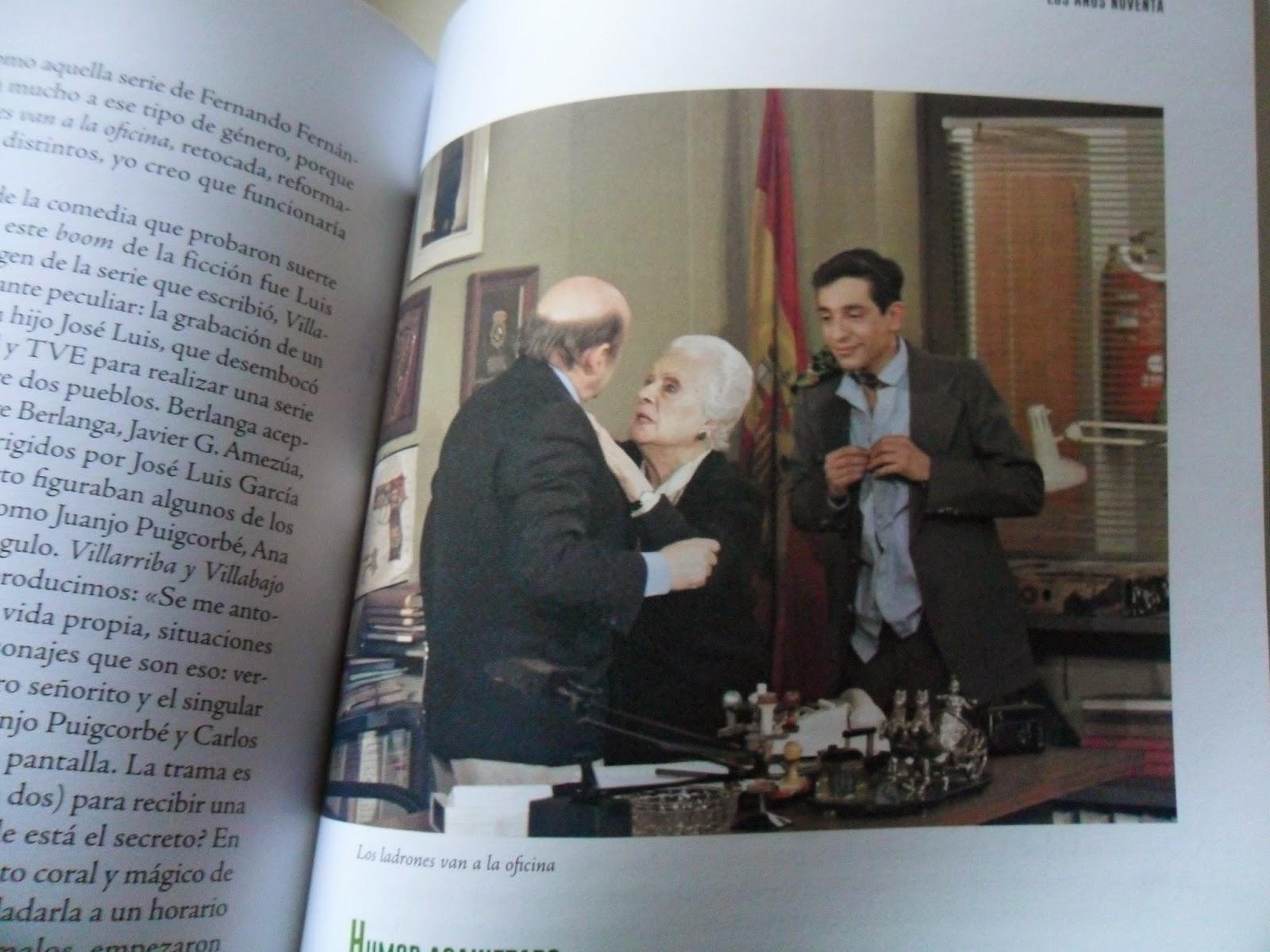 Agustín González, Aurora Redondo y Roberto Cairo en Los ladrones van a la oficina, España en serie