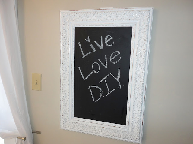 DIY Chalkboard | LiveLoveDIY