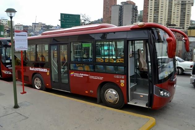El nuevo Bus Los Teques: una solución para los habitantes de la Capital del Estado Miranda