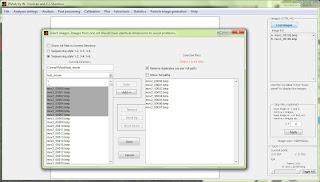 PIVy - PIV tool programmed in Matlab. Screenshot 1