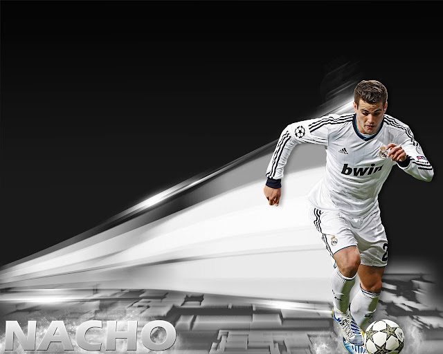 New Nacho wallpaper picture HD Real madrid 2013 - 2014