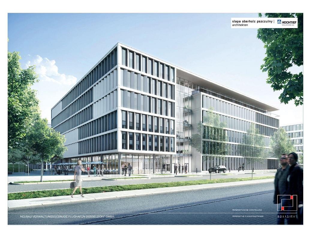 D sseldorf flughafen verwaltungs neubau kommt - Architekten in dusseldorf ...
