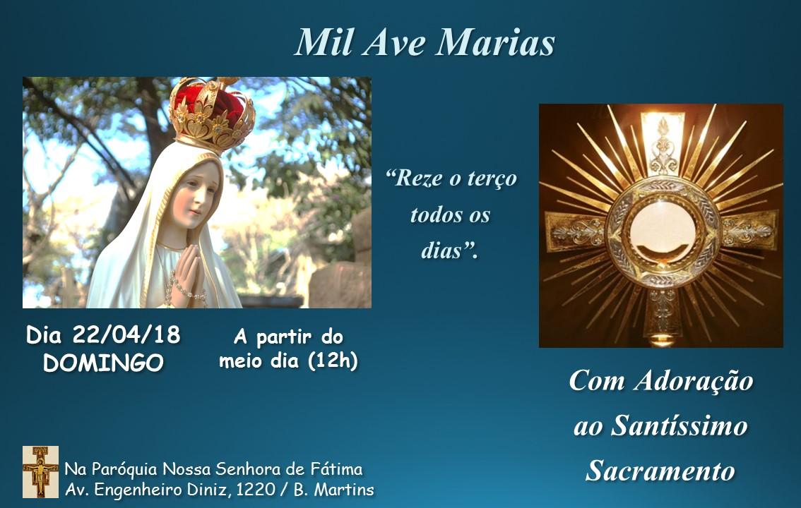 Mil Ave-Marias- Domingo