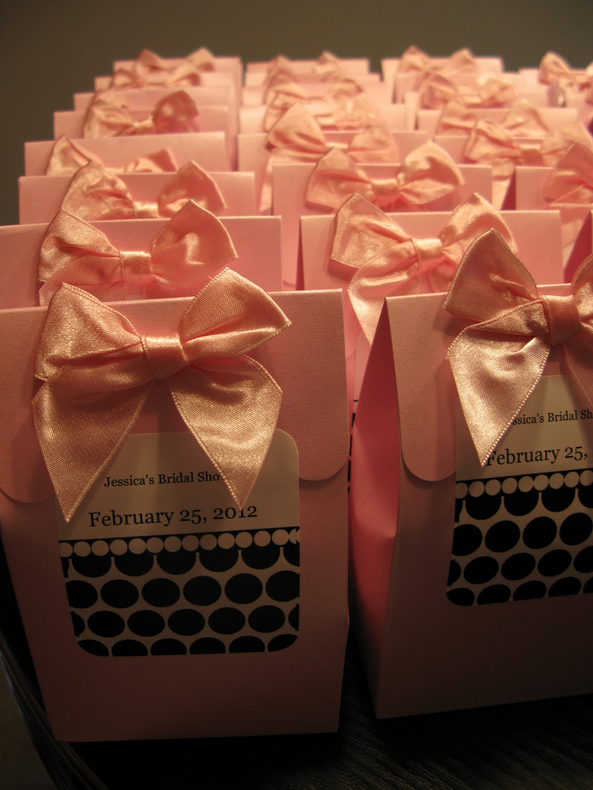Wedding Shower Goodie Bag Ideas : Goodie bags complete!