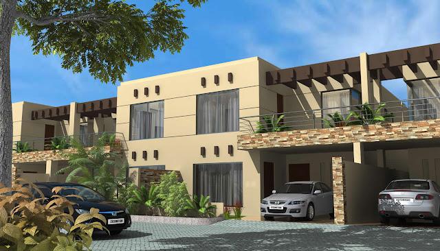 3d front elevation   new 3d home design