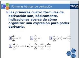 Fórmulas básicas de derivación - worked problem