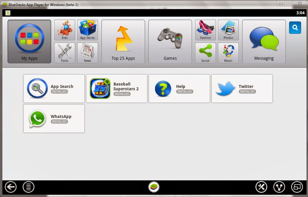 Emulator Android, bluestack