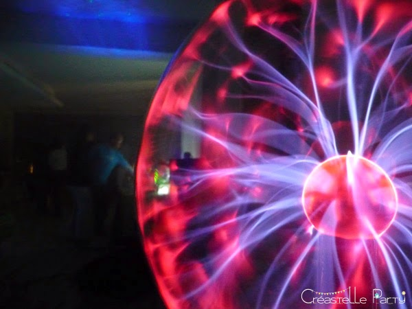 Geek party lumière