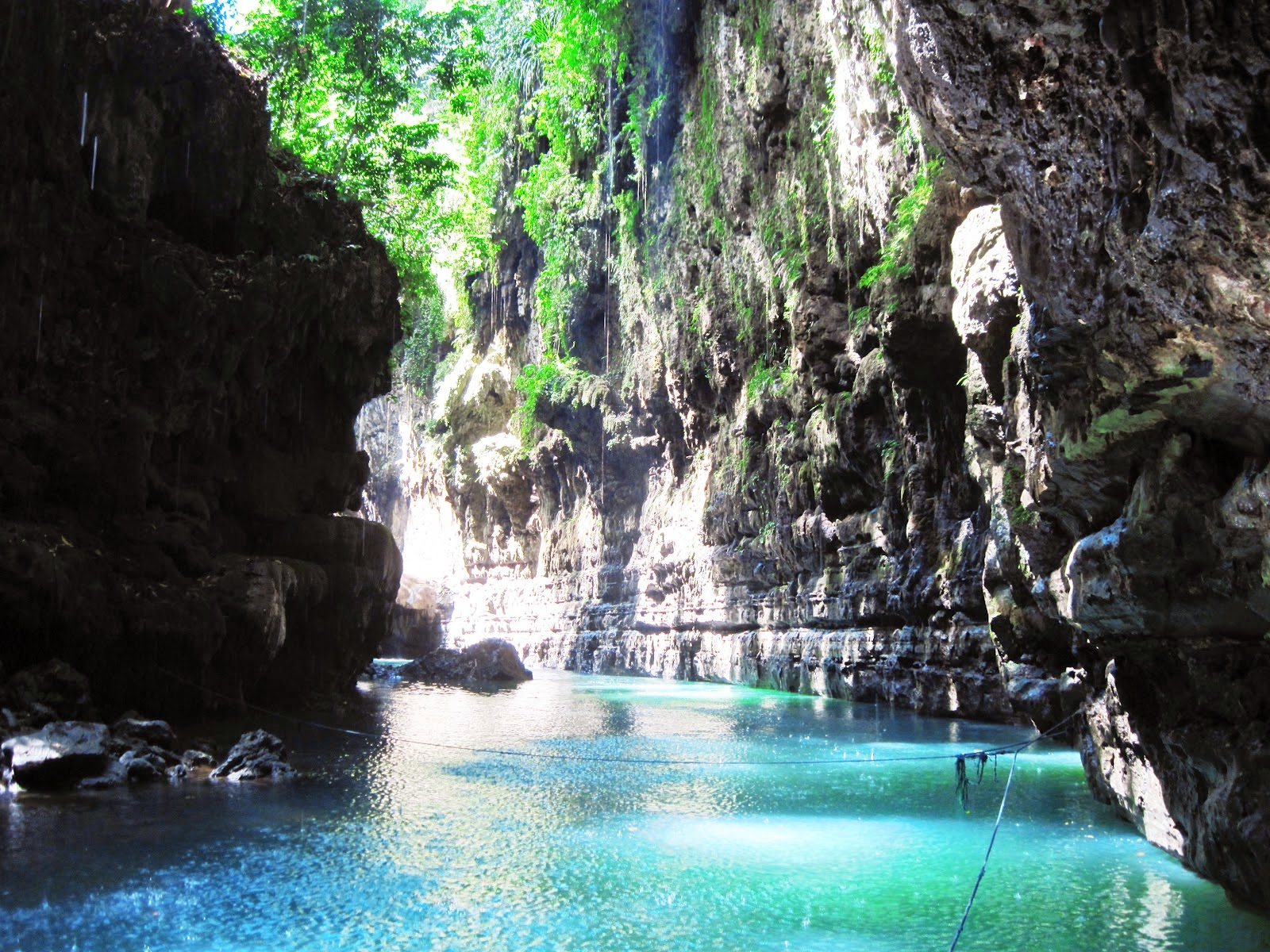 pesona green canyon