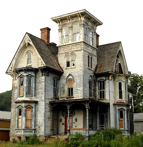 Old Abandoned Victorian Houses