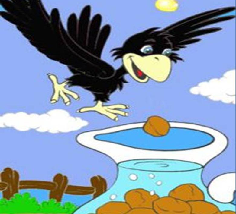 Stories 4 children the thirsty crow