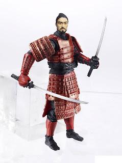 Hasbro GI Joe Retaliation Budo Samurai Warrior figure