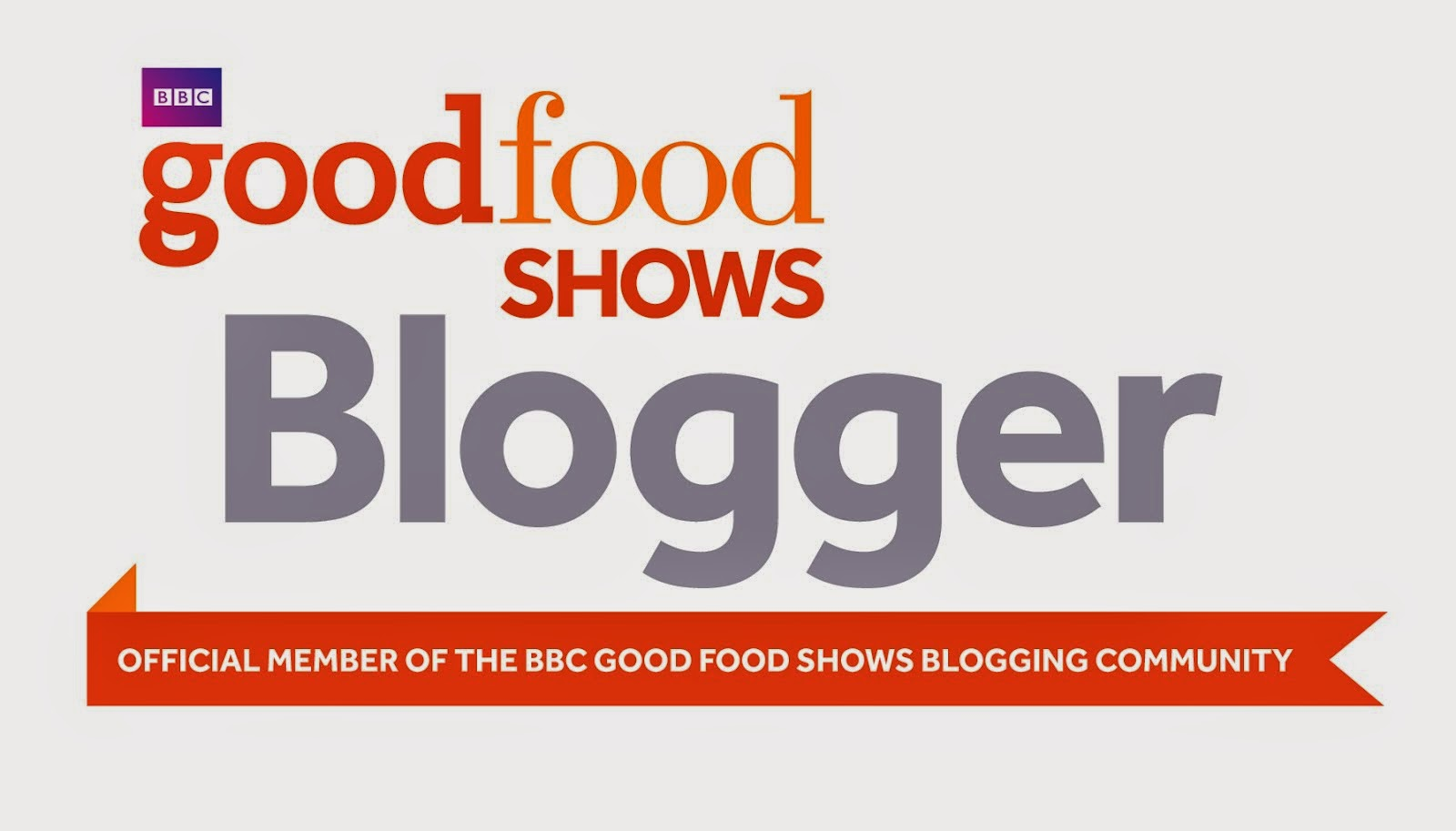 Official Member Of The BBC Good Food Shows Blogging Community