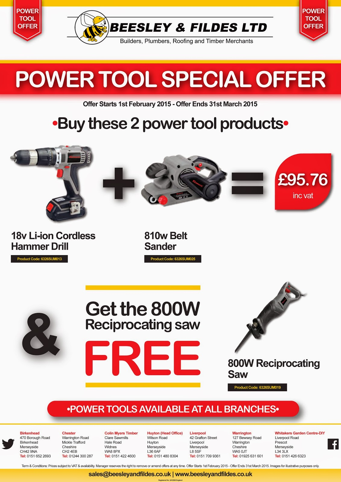 Power Tool Promo Pack 2