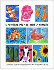 Draw Plants & Animals eBook $5