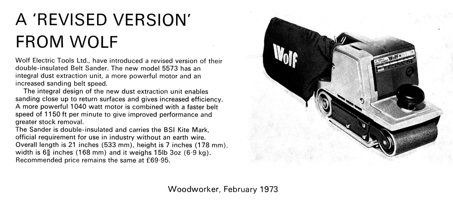portable power tools names. the company was purchased by kango tools ltd. out of peterborough, england in 1980\u0027s. wolf name disappeared as line \ portable power names k