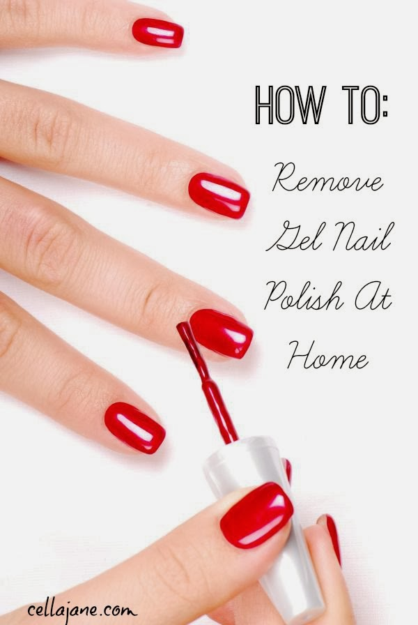 Jane // Fashion + Lifestyle Blog: How To Remove Shellac Nail Polish
