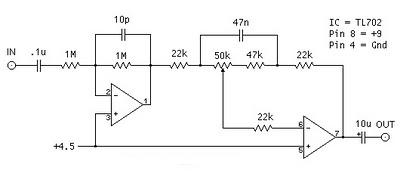bass booster with tl072 gambar skema rangkaian elektronika rh gambarskemarangkaian blogspot com Multiplexer IC 16 4X1 Multiplexer IC