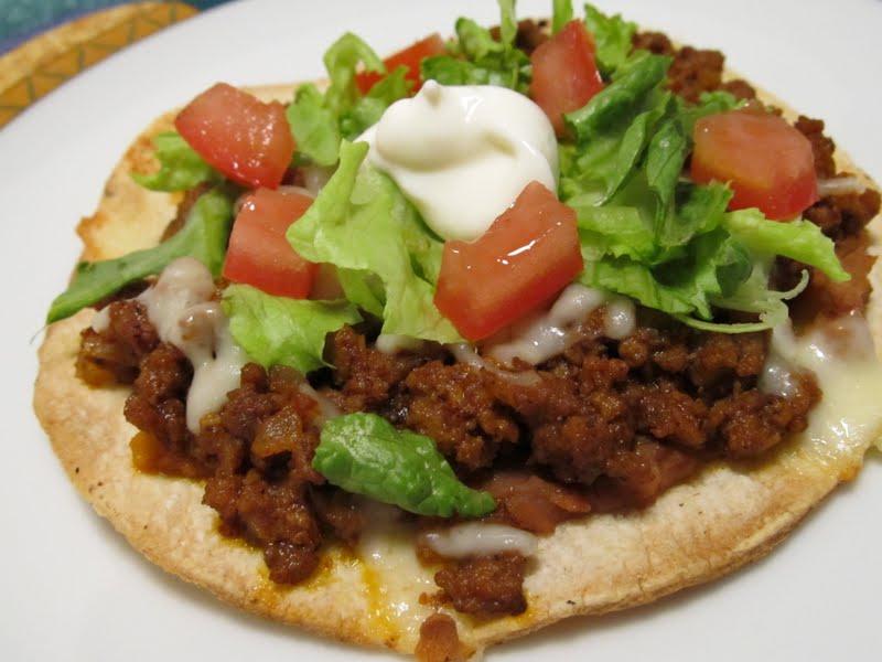 Beef Tostadas Recipe — Dishmaps