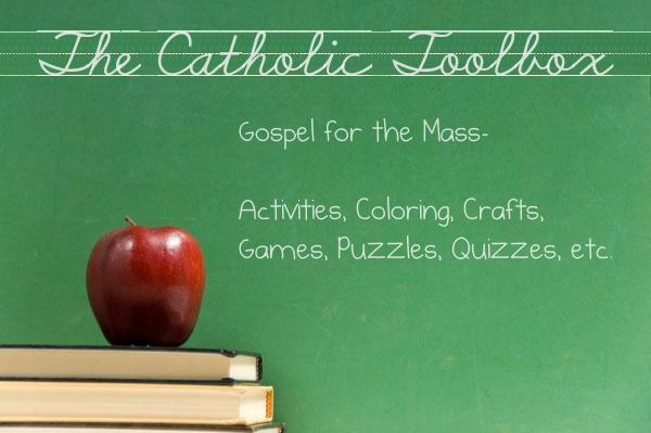 Gospel For The Mass Year B