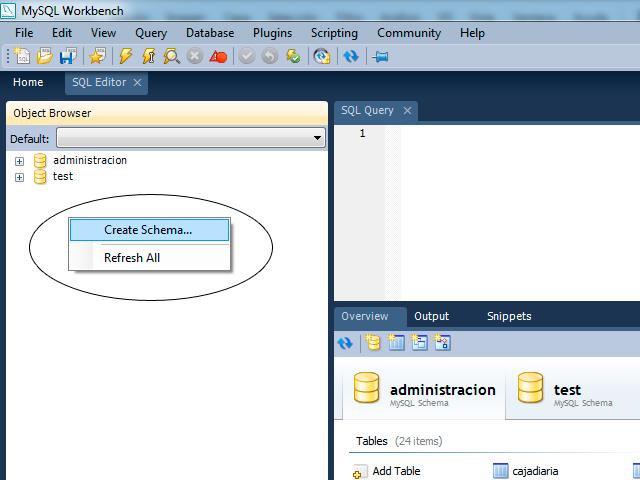 Curso de MySQL, crear una Base de datos, MySQL, phpMyAdmin, MySQL Workbench, Database, MySQL Server