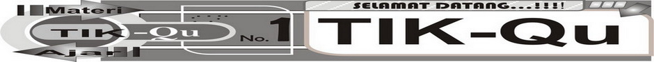 TikPedia - Kumpulan materi pelajaran TIK (teknologi informasi dan komunikasi)
