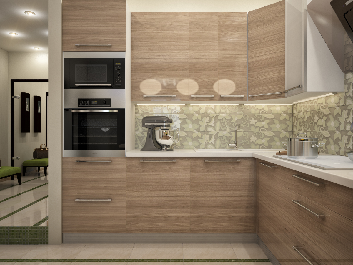 Kitchen hall lounge visualization by happy irena for Kitchen design visualiser