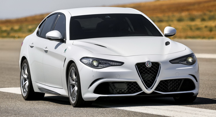 alfa romeo s 510hp giulia quadrifoglio priced from 79 000. Black Bedroom Furniture Sets. Home Design Ideas