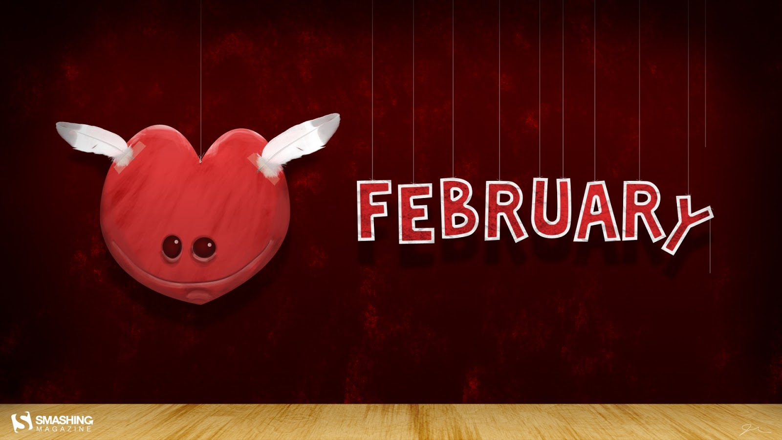 February Month of Love 1920x1080 Wallpaper