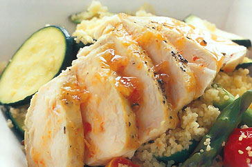 Chicken Couscous Salad Recipe