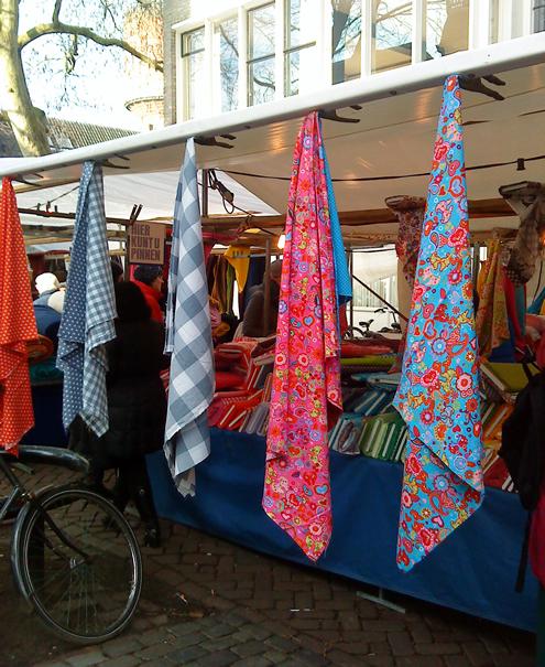 Utrecht fabric market