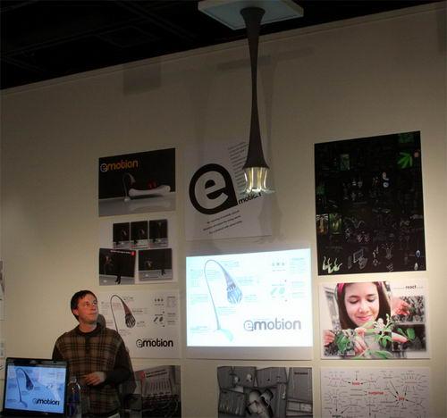 Emotion the Sensitive Hanging Lamp Concept