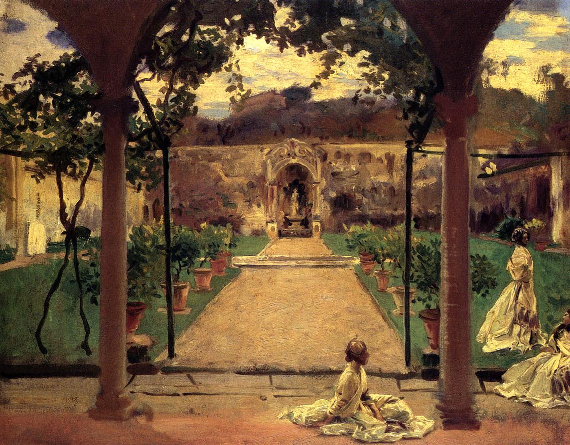 john singer sargent garden
