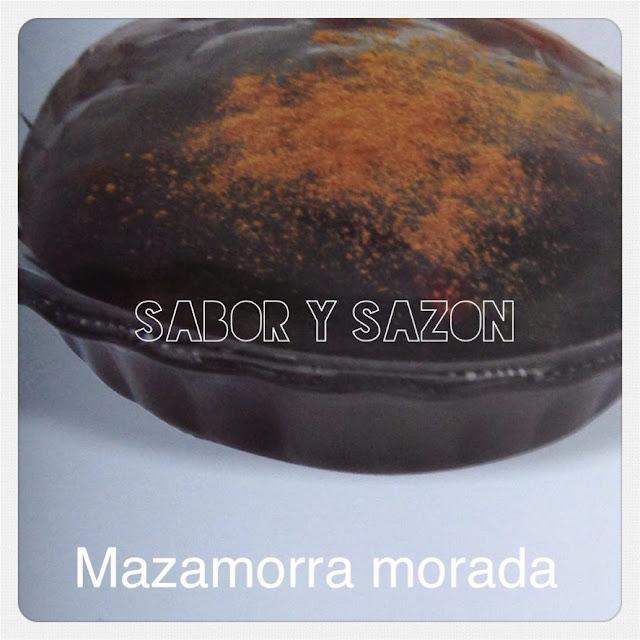 CÓMO HACER MAZAMORRA MORADA - POSTRES PERUANOS - http://elpostreperuano.blogspot.com