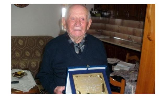 Γεννήθηκε το 1902 στον Πόντο. Έφυγε σε ηλικία 113 ετών!