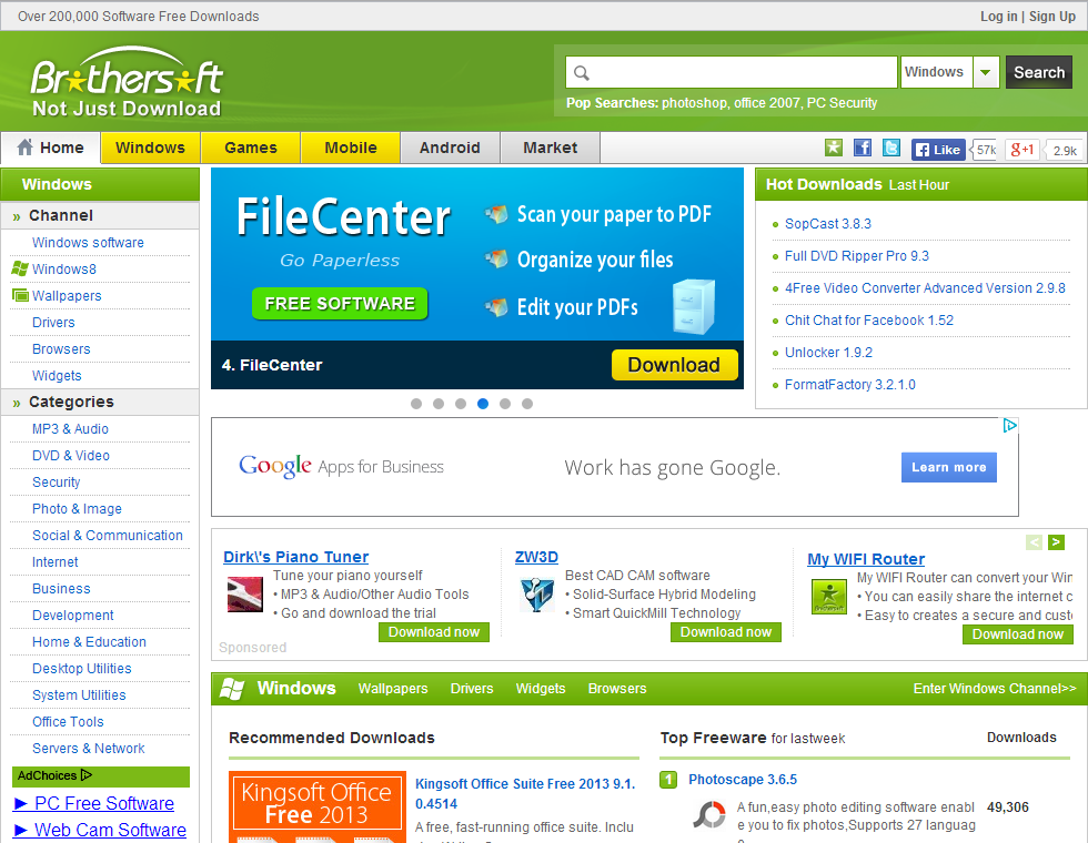 brothersoft software for windows 7 free