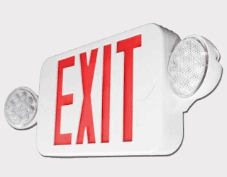 Escape Routes Lights, Emergency Exit Light
