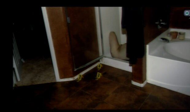 Photo of Travis Alexander's deceased body in the shower shown to jury ...