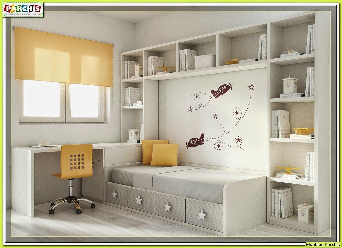 Muebles juveniles dormitorios infantiles y habitaciones for Diseno de muebles para dormitorio de nina