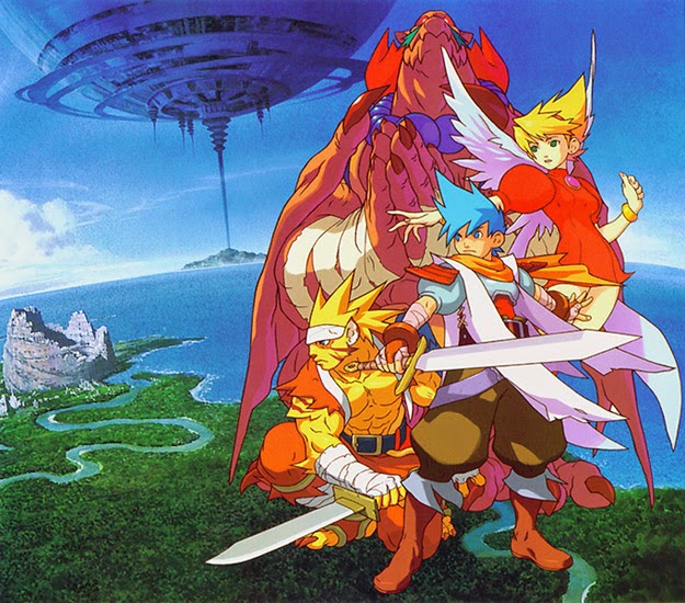 video game Breath of Fire III images