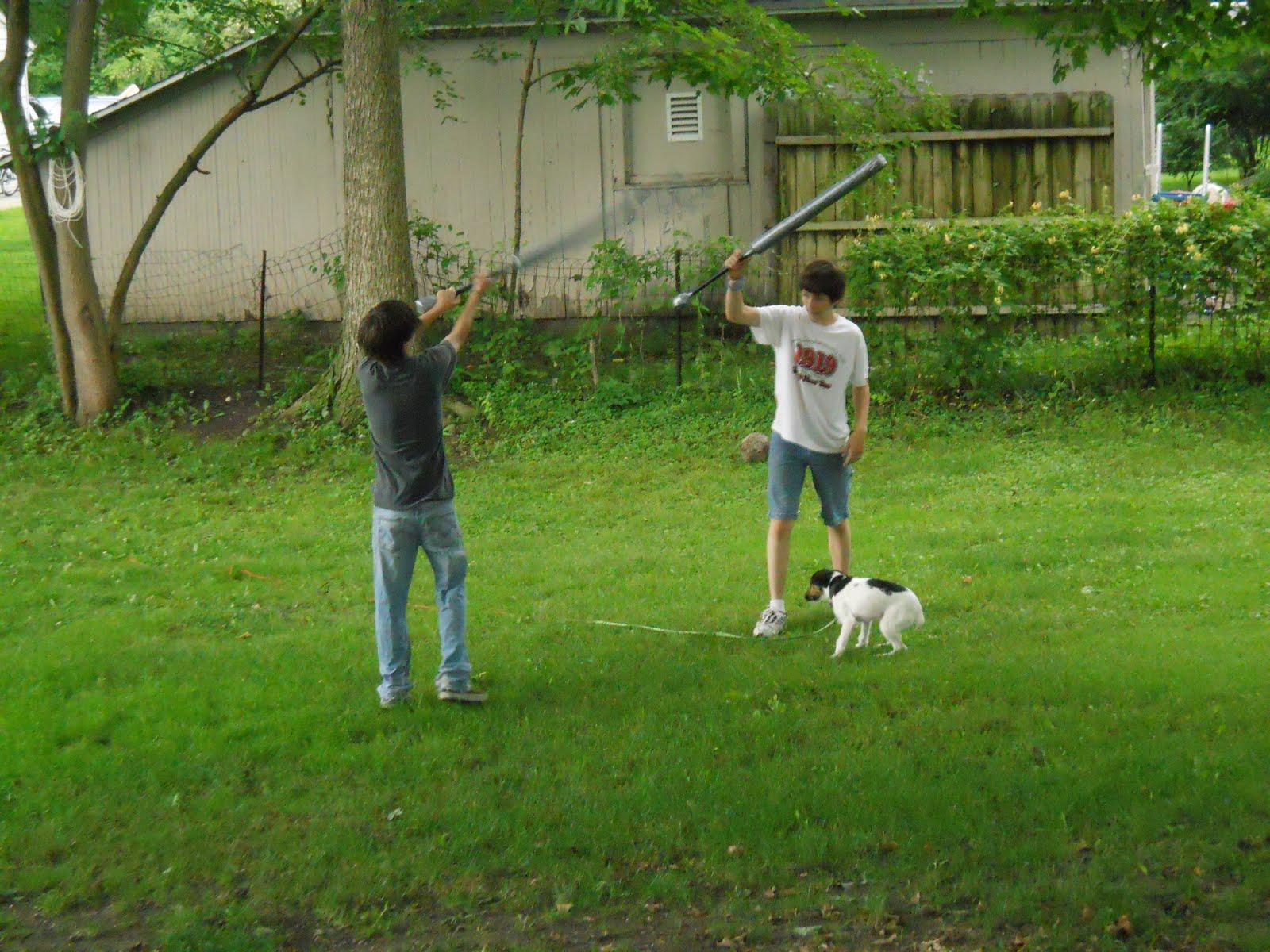 the adventures of karen boys in the backyard