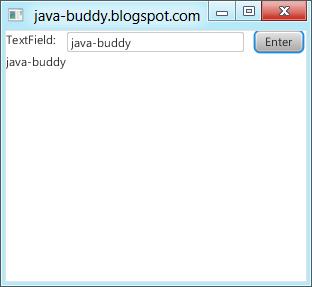 JavaFX 2.0 - TextField
