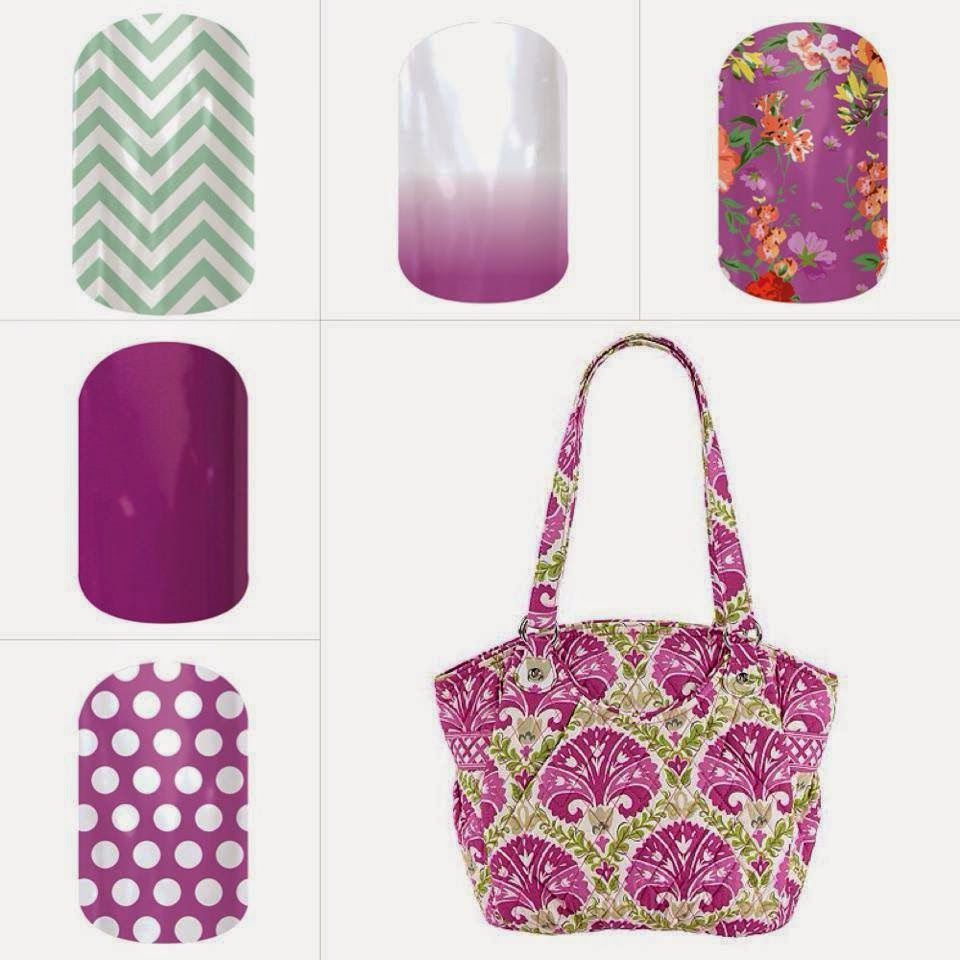 OhMyVera! A blog about all things Vera Bradley: Jamberry Nail Wraps ...