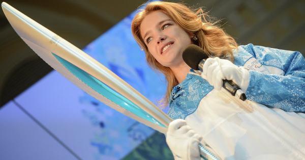 Olympic Torch © RIA Novosti. Vladimir Astapkovich