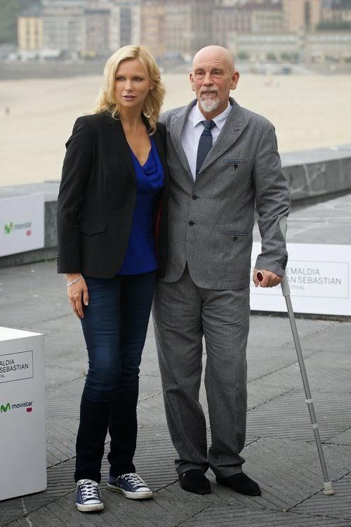 Veronica Ferres honors John Malkovich life work