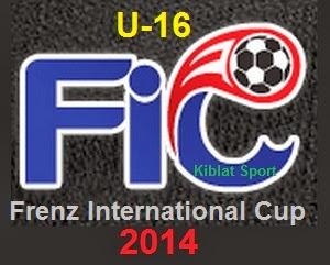 Klasemen Dan Hasil Skor Frenz International Cup 2014 U16