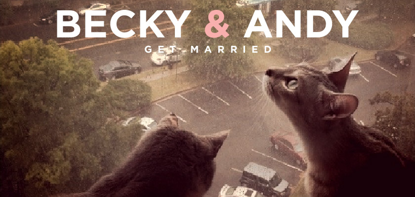 Becky and Andy Get Married