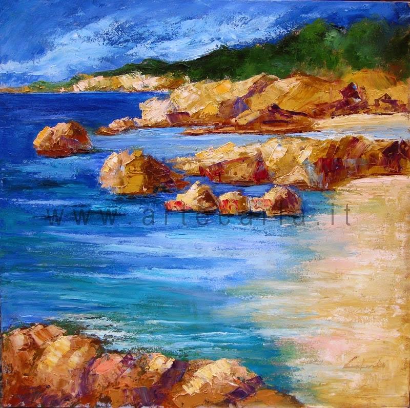 arteCarlaColombo: opera ad olio (quadro, paesaggio, marina, mare)