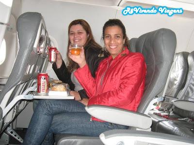 foto jacu no avião